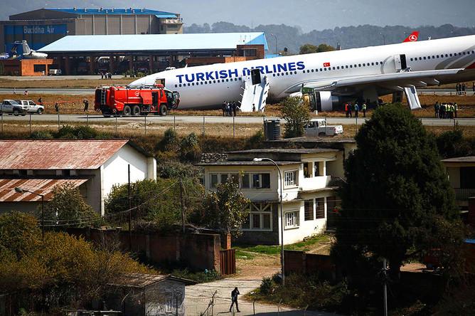 В Непале потерпел крушение Airbus A330