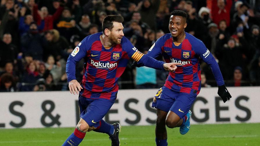 Месси рискует пропустить первый матч «Барселоны» после возобновления чемпионата