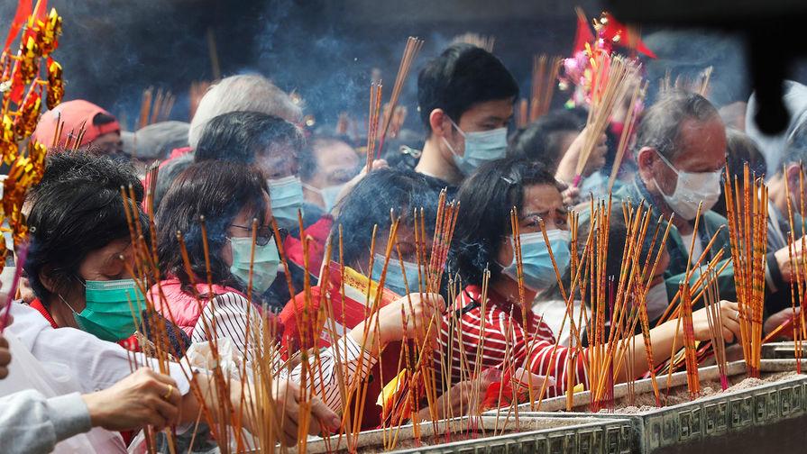 Празднование Нового года по лунному календарю в Гонконге, 25 января 2020 года