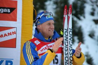 Швед Карл-Юхан Бергман впервые победил на домашнем этапе Кубка мира