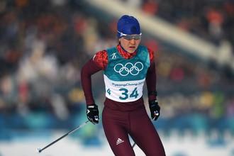 Российская лыжница Алиса Жамбалова