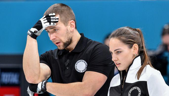 Александр Крушельницкий и Анастасия Брызгалова на Играх в Пхенчхане