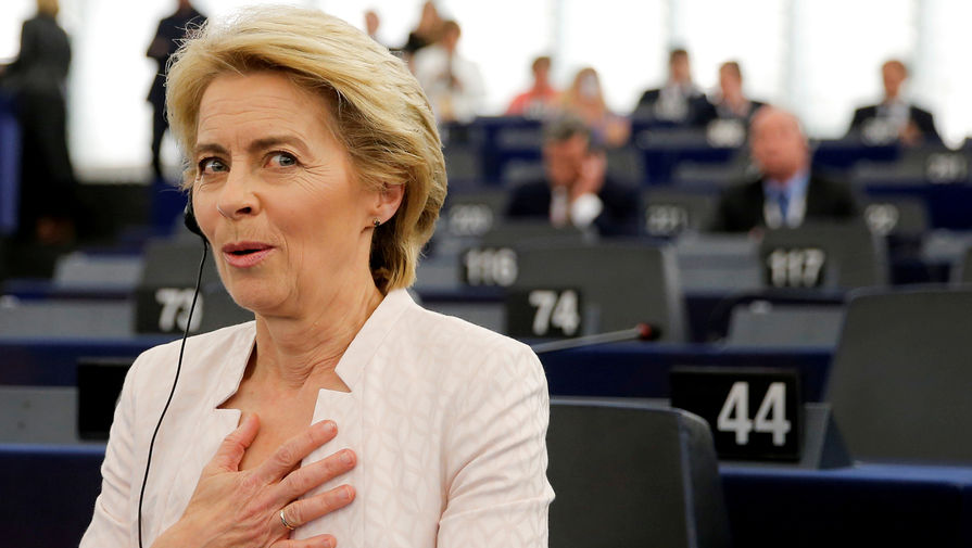 Урсула фон дер Ляйен, председатель Европейской комиссии с 2019 года