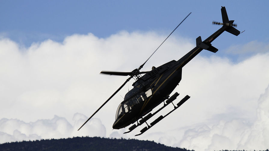 В Калининградской области упал вертолет