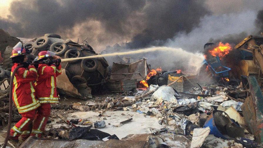 Трамп назвал взрыв в Бейруте «ужасной атакой»