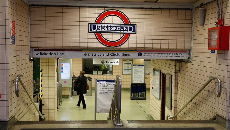В лондонском метро распылили слезоточивый газ