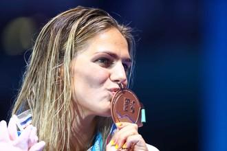 Россиянка Юлия Ефимова взяла бронзу на дистанции 100 м брассом на чемпионате мира по водным видам спорта