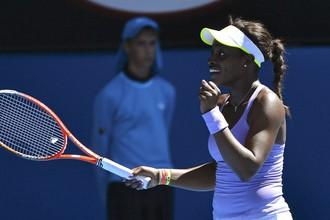 Слоан Стивенс вышла в финал Открытого чемпионата США