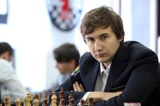 Чемпион мира по блицу Сергей Карякин
