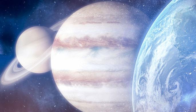 Редкое явление: Сатурн сближается с Юпитером