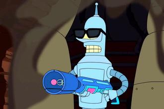 Робот Бендер в седьмом сезоне «Футурамы»