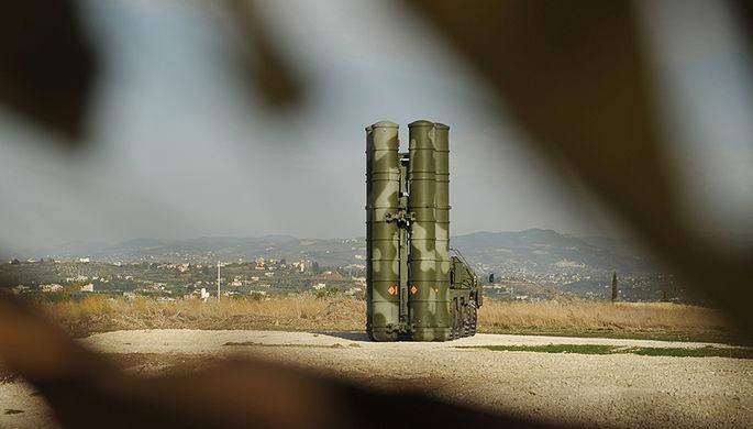 ЗРК С-400 на базе Хмеймим в Сирии
