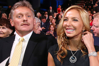 Дмитрий Песков и Татьяна Навка, 2015 год
