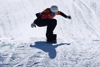 Российская сноубордистка Мария Васильцова
