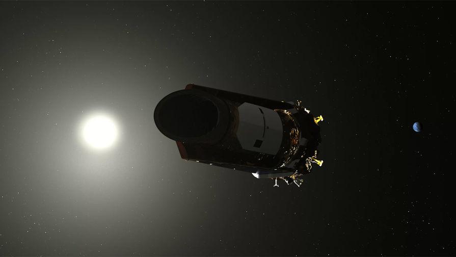 Визуализация работы космической обсерватории «Кеплер»