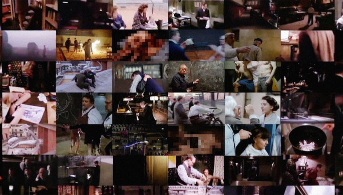 Кадр из трейлера фильма «Дау»