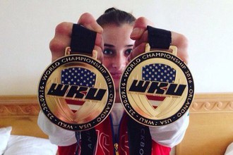 Вице-чемпионка мира по кикбоксингу Элина Гисмеева