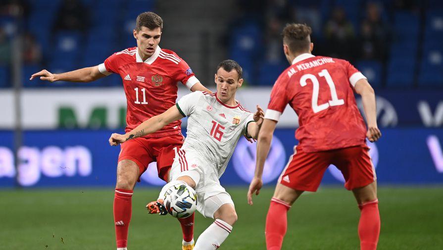 эпизод матча Россия- Венгрия