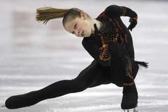 Юлия Липницкая дебютировала во взрослой серии Гран-при