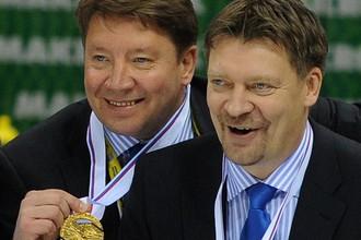 Юкка Ялонен и Яри Курри с золотом ЧМ-2011