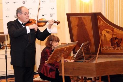 Лучшие музыканты Цюриха исполняют композиции великого Филидора.