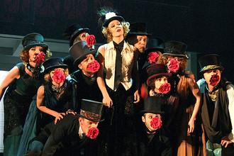 Танцевальный спектакль «Дама с камелиями» в театре Пушкина