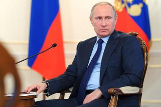 Владимир Путин на встрече с участниками проекта Фонда развития интернет-инициатив «Стартапы в интернете»