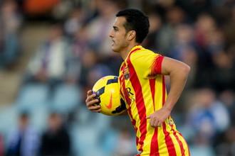 Педро Родригес сделал хет-трик в матче с «Хетафе» и оставил «Барселону» во главе турнирной таблицы