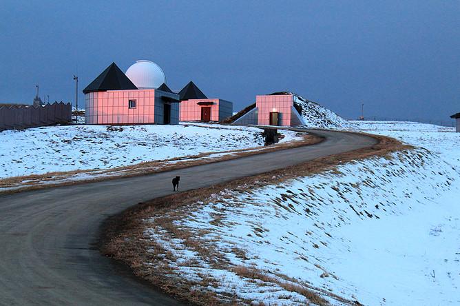 Комплекс зданий Кавказской горной обсерватории