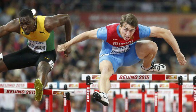 Шубенков в погоне за золотой медалью чемпионата мира по легкой атлетике