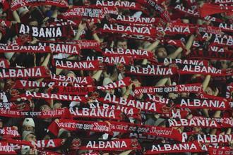 Албанские болельщики бурно поддерживали свою сборную в Ереване