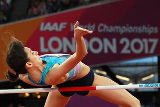 Мария Ласицкене победила на чемпионате мира по легкой атлетике в прыжках высоту