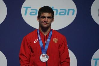 Александр Чехиркин с серебряной медалью