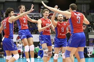 Российские волейболисты легко переиграли китайцев на Кубке мира