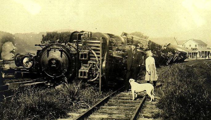 Перевернутый поезд: ученые раскрыли тайну землетрясения