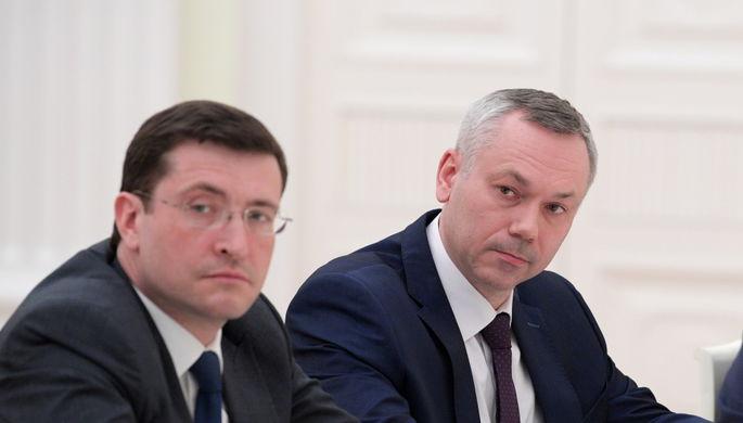 Глеб Никитин и Андрей Травников