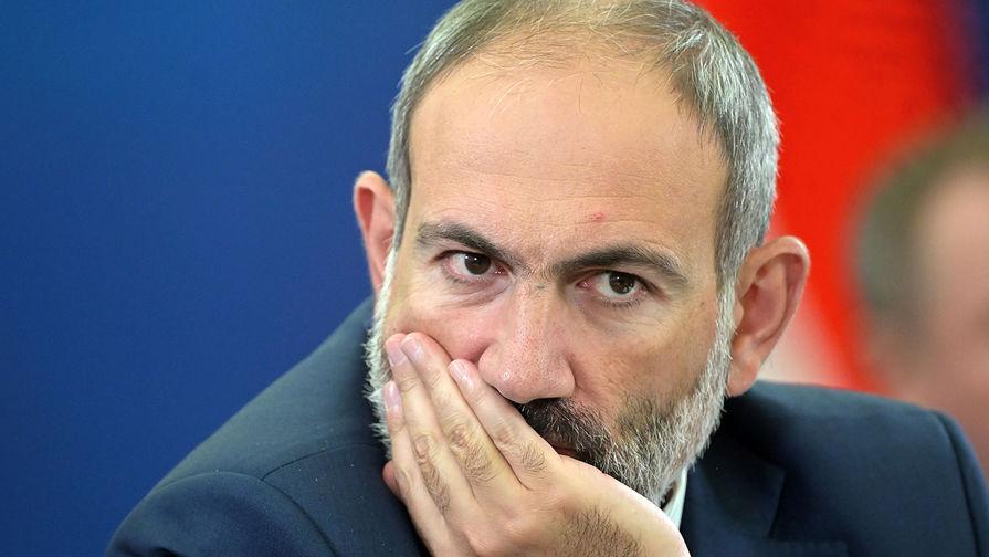 МИД Армении сообщил о краже дипломатического паспорта Пашиняна