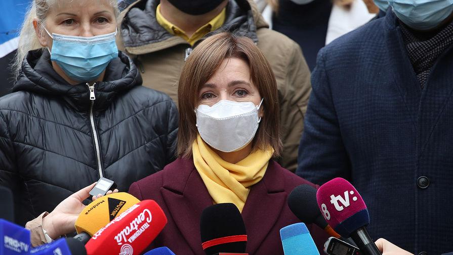 «Под диктовку США»: в России оценили план Санду по Приднестровью