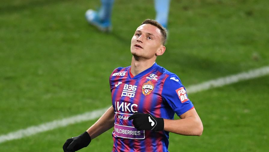 Гол Чалова принес ЦСКА победу над Расингом в последнем матче сборов