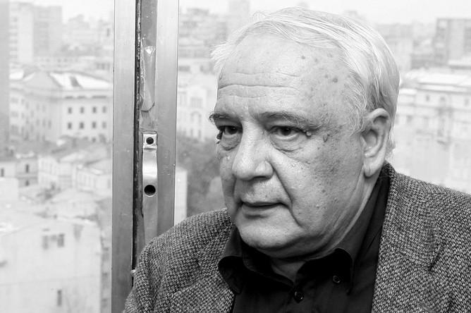 Советский диссидент и писатель Владимир Буковский, 2007 год