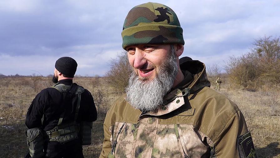 Командир полка полиции специального назначения МВД по Чечне Замид Чалаев