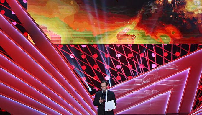 Министр культуры Владимир Мединский на церемонии вручения премии «Золотой орел» в Москве, 27 января 2017 года
