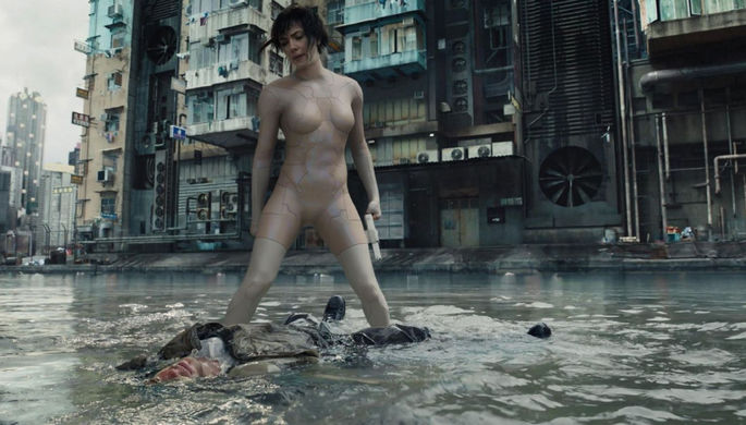 «Призрак в доспехах» (Ghost in the Shell, 2017)