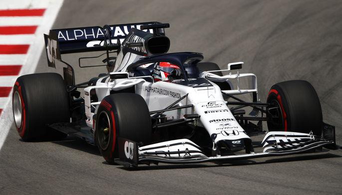 Даниил Квят в составе команды «Формулы-1» «Альфа Таури»