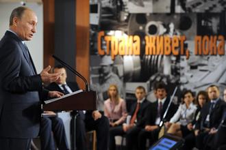 Путин доволен тем, как правительство справилось с кризисом
