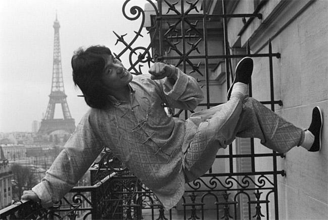 Джеки Чан в Париже, 1981 год