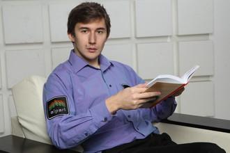 Победитель Кубка мира по шахматам Сергей Карякин