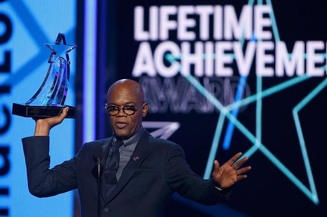 Награда за заслуги — Сэмуэл Л. Джексон