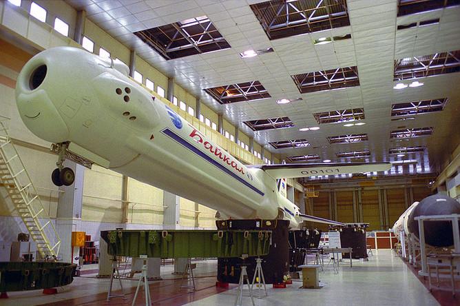Многоразовый ускоритель первой ступени «Байкал» в составе ракеты-носителя «Ангара»
