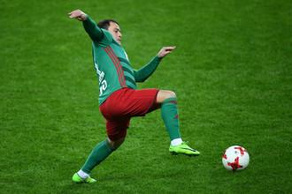 Игрок «Локомотива» Алан Касаев